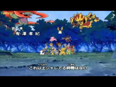 Digimon Digital Monsters Opening Español Latino HD