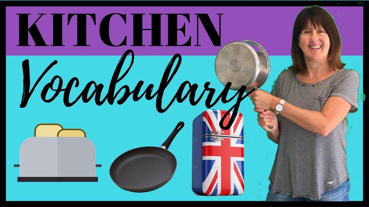 Kitchen Vocabulary - British English - Learn English Vocabulary ...
