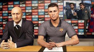 BARCELONA : Jual Messi, Beli Ronaldo & Salah - ML PES 2020 PS4