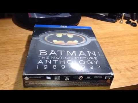 Quick Pickup: Batman The Motion Picture Anthology 1989-1997 Blu-Ray