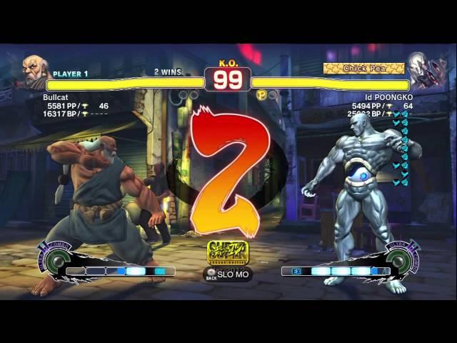 POONGKO (Seth) vs Bullcat (Gouken) - AE2012 Endless Matches *720p HD*