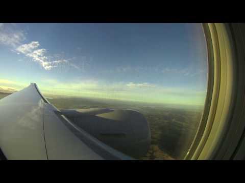 Qatar Airways Inaugural Flight from Doha to Auckland