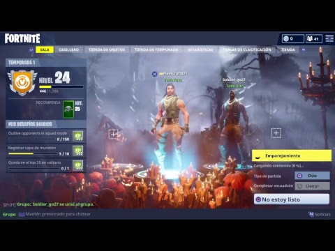 Fortnite 1 temporada 2 youtube for Fortnite temporada 5 sala
