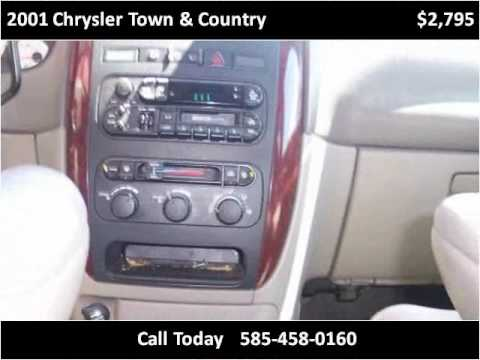 2001 Chrysler Town & Country Used Cars Rochester NY