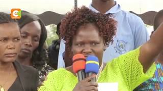 Rongo University students disrupt Sharon Otieno's burial