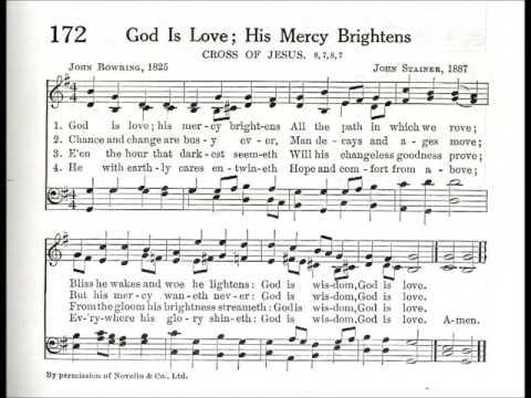 God is Love; His Mercy Brightens (Cross of Jesus)