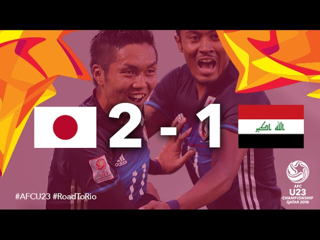 Video: U23 Nhật Bản vs U23 Iraq