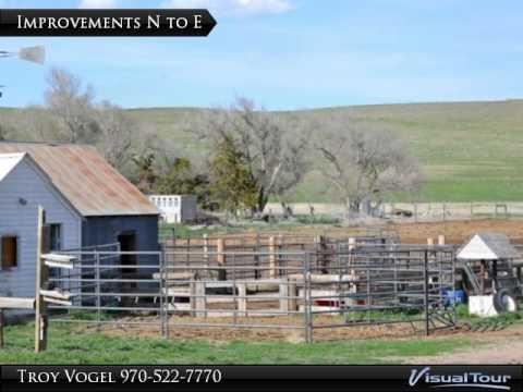 Keith County Nebraska Pasture, Dry Farmland and Rural Residence