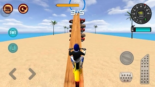MOTOCROSS BEACH RACE JUMPING 3D - Motor Cycle Video Games - Dirt Motor Bike Games - Bike Games