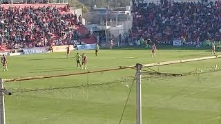 Union 1-0 Aldosivi, Superliga, Final del partido y ovacion a Soldano