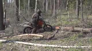 видео Как прыгать на внедорожном мотоцикле