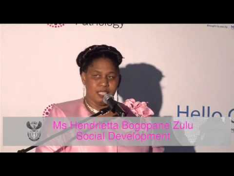 Deputy Minister Hendrietta Bogopane-Zulu opens Hello clinic