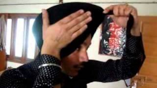 How To Tie A Turban Bathind) 94635-95040 Turban Tying Video ,Tying Turban On Bike Bullet Stunts