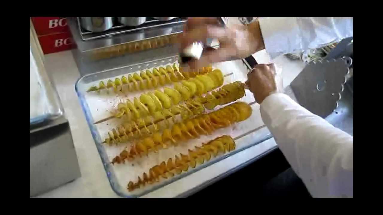 Çubukta Burgu Patates Nasıl Yapılır