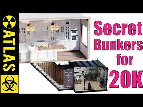 INCREDIBLE SECRET ROOMS and Tricked Out BOMB SHELTERS