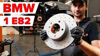Montaje Juego de frenos de disco delanteras y traseras BMW 1 SERIES: vídeo manual