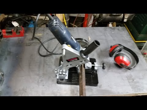 ebay-angle-grinder-chop-saw-stand-review