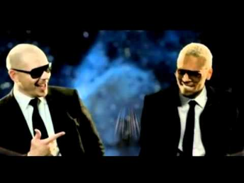 Pitbull Ft Chris Brown -- Shame