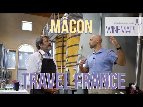 Traveling to Mâcon (Burgundy) the east-centralFrance | Travel France with WineMap TV