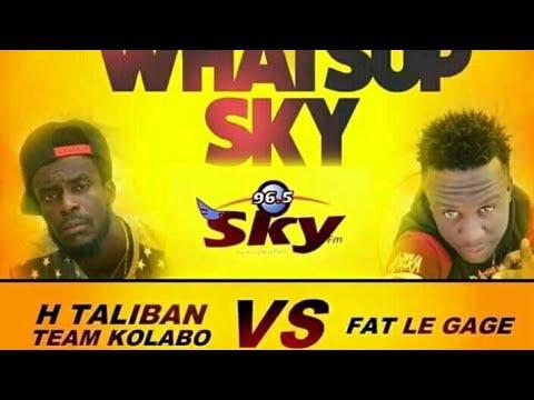 FATT LE SAGE Vs H NEW FREESTYLE -TALIBAN - Nan SKY FM BY SAJES NET ALE