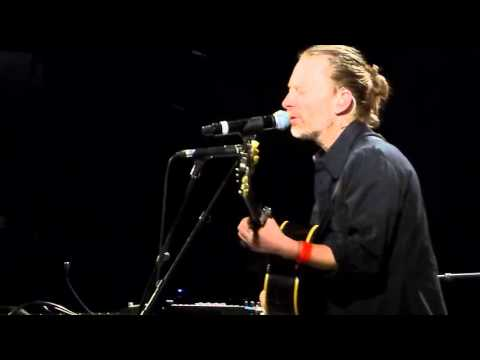 Thom Yorke - Radiohead : Desert Island Disk NEW SONG @ le Trianon 4 December 2015