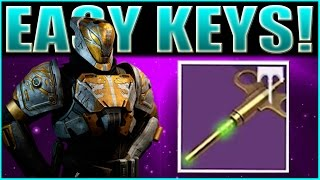 Destiny Rise of Iron | EASY UNLIMITED SKELETON KEYS FARMING GUIDE!