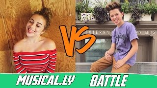 The Best Baby Ariel VS Jacob Sartorius Musical.ly Compilation 2016 | Battle Musers