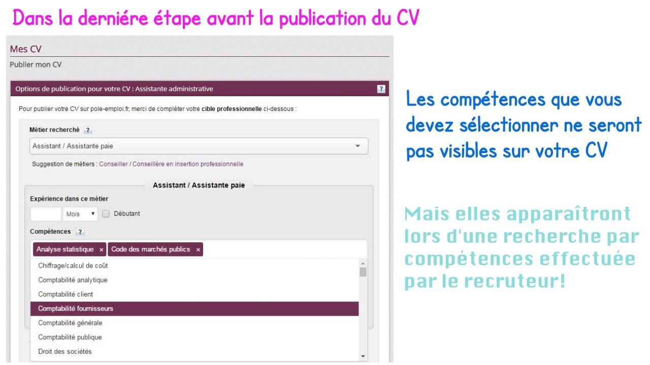 recherche emploi cv en ligne