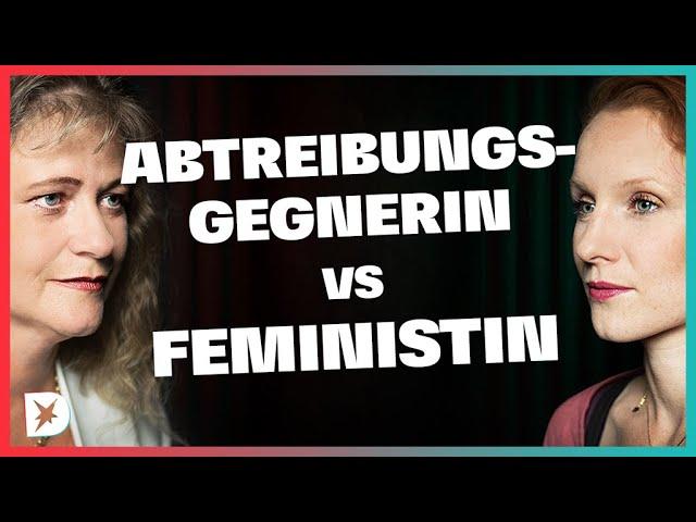 Abtreibung: Sollte sich der Staat raushalten? Feministin vs. Abtreibungsgegnerin | DISKUTHEK