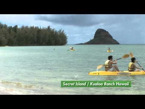 Secret Island Kualoa Ranch Hawaii