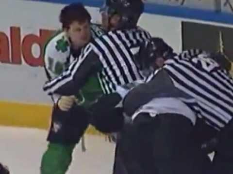 Hockeyfighters.cz  Jesse Boulerice vs Jamie McGinn.wmv
