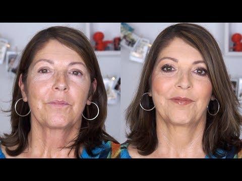 Maquillage Rajeunissant Pour Tous Les Jours / Relooking De Sylvie 55 Ans