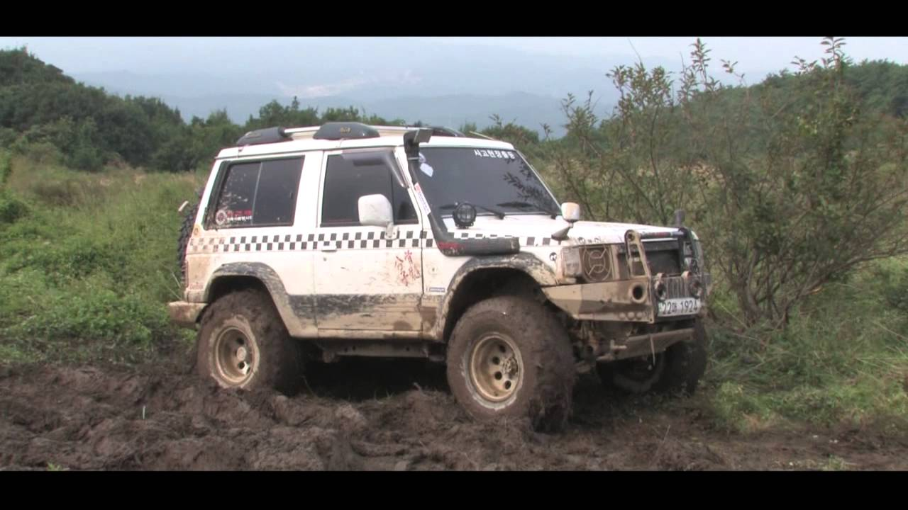 hyundai galloper 1 mud offroad youtube. Black Bedroom Furniture Sets. Home Design Ideas