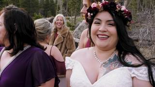 Beautiful Intimate Outdoor Wedding at Rocky Mountain National Park | Jennifer + Kyle |