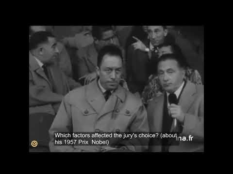 Albert Camus - Interview About Football (English Subtitles)