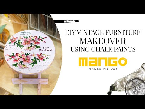 DIY Vintage Furniture Makeover Using Chalk Paints Ft. Shraddha Pawar (@wintersockss)