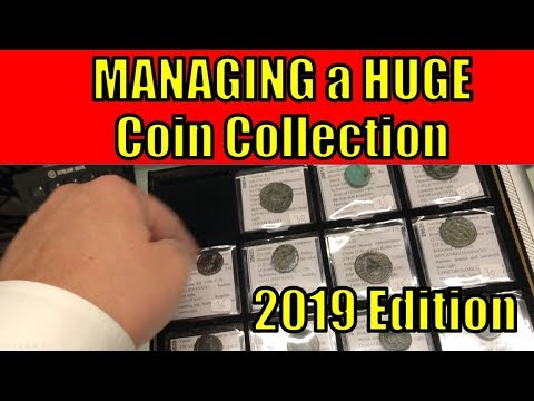 Managing and Displaying BIG Coin Collection HOW To Collecting Guide Tips & Tricks