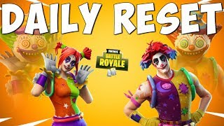 CUSTOMIZABLE CLOWN SKINS - Fortnite Daily Reset NEW Items in Item Shop