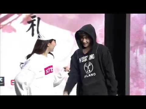 【杨洋&刘亦菲】电影三生三世首映发布会合跳街舞CUT 杨洋刘亦菲尬舞
