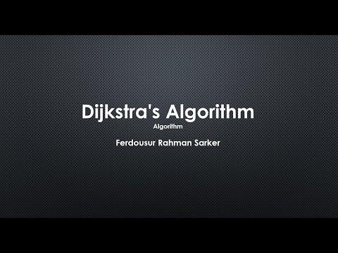 Dijkstra's Algorithm For Single-Source Shortest Path - Algorithms (Bangla Tutorial)