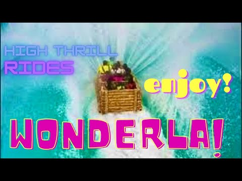 Amazing High Thrill Rides - Wonderla Amusement Park -Bangalore, India *HD*