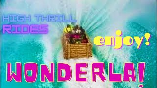 Amazing High Thrill Rides - Wonderla Amusement Park -Bangalore, India *HD* thumbnail