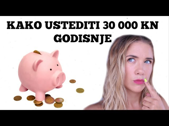 KAKO UŠTEDITI 30 000 KN GODIŠNJE - Debela Barbara