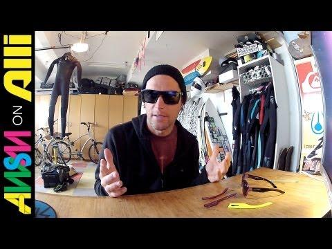 Arnette Sunglasses Review -- Interchangeable Arms