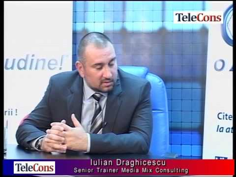 Ce trebuie sa stiti despre training-uri - Iulian Draghicescu, senior trainer Media Mix Consulting