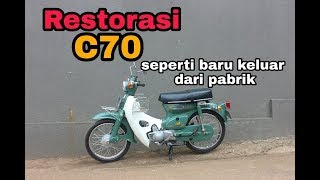Download Mp3 C70 Original 1975 Hijau   Motor Antik