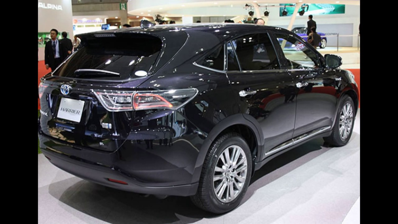 Toyota Rush Images >> 2018 The Toyota Harrier Turbo New Facelift - YouTube