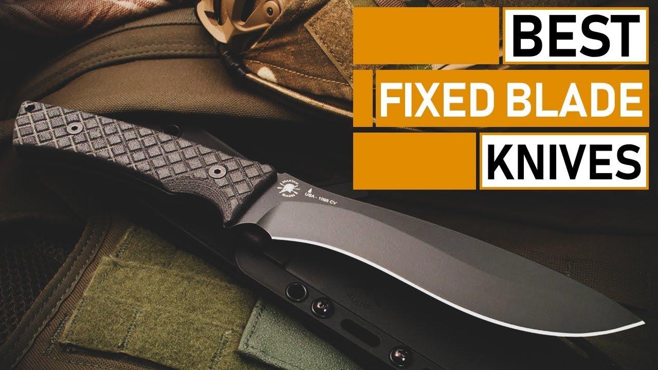 Amazing Fixed Blade Knives for Camping & Outdoors | Morakniv, Ka-Bar, Gerber