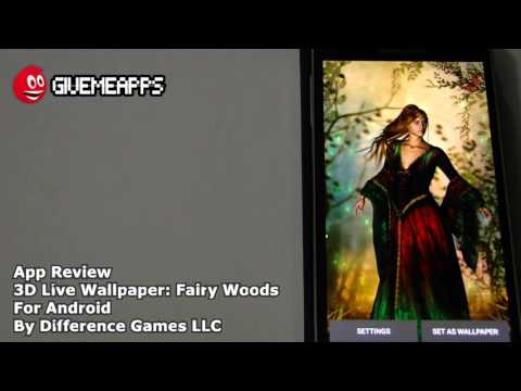 3D Live Wallpaper: Fairy Woods Android App Review | GiveMeApps
