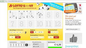 Lotto online spielen - Schnell, einfach und sicher